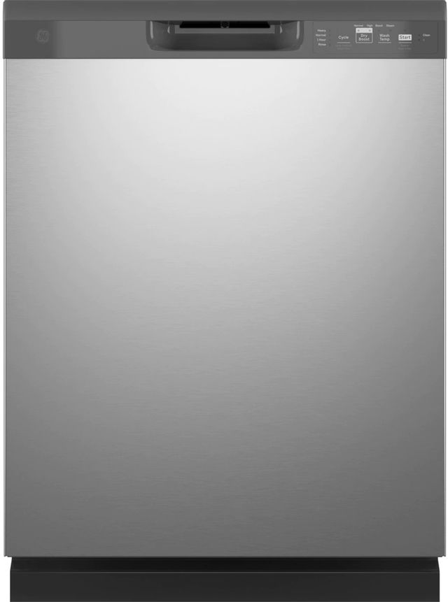 """GE® 24"""" Stainless Steel Built In Dishwasher-GDF511PSRSS"""