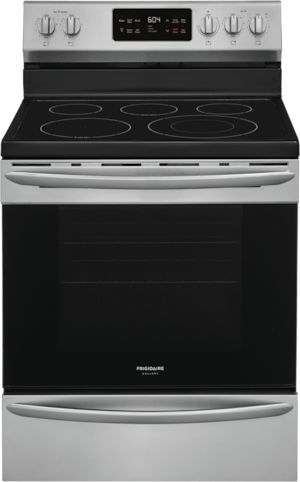 """Frigidaire Gallery® 30"""" Stainless Steel Free Standing Electric Range-GCRE3038AF"""