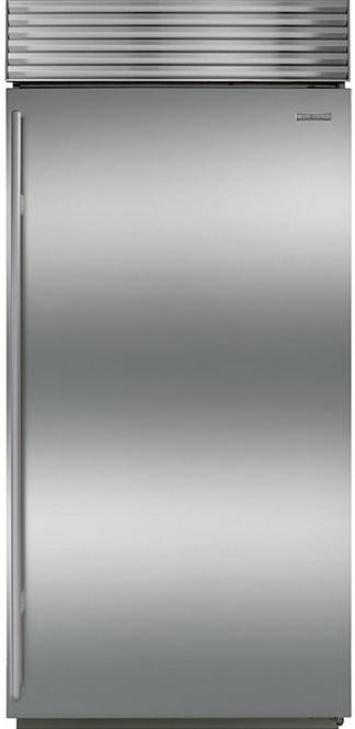 Sub-Zero 22.7 Cu. Ft. Built-In Freezer-Stainless Steel-BI36FS