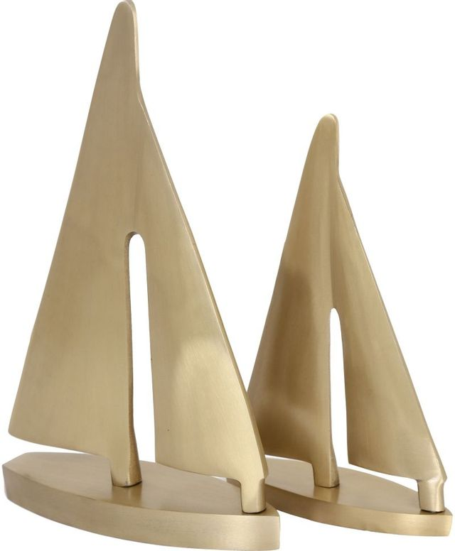 Statues Bateaux Fable, or, Renwil®-STA706