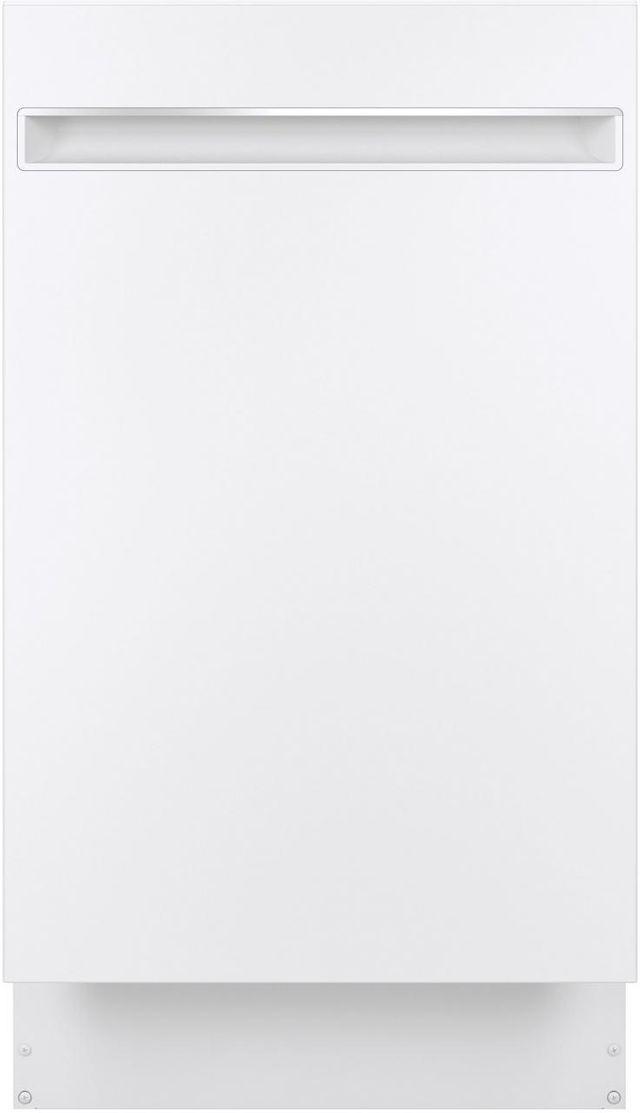 "GE Profile® 18"" White Built In Dishwasher-PDT145SGLWW"