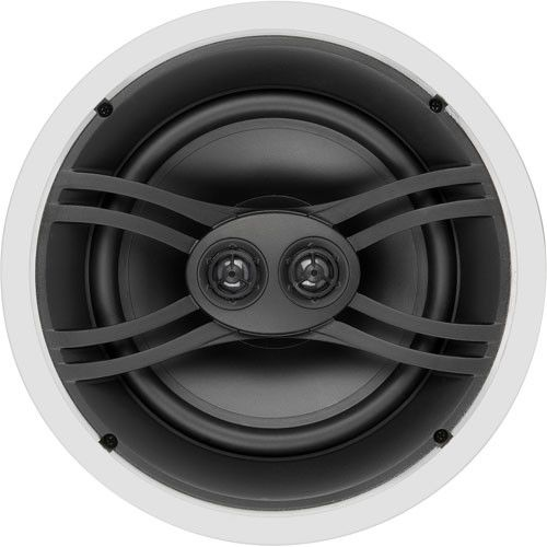 Yamaha® Natural Sound 3-way In-Wall Speaker-NS-IW480CWH