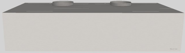"""Vent-A-Hood® 54"""" Wall Mounted Range Hood-Stainless Steel-CWH-454 SS"""