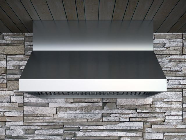 """Zephyr Pro Collection Cypress 36"""" Outdoor Pro Style Wall Ventilation-Stainless Steel-AK7836BS"""