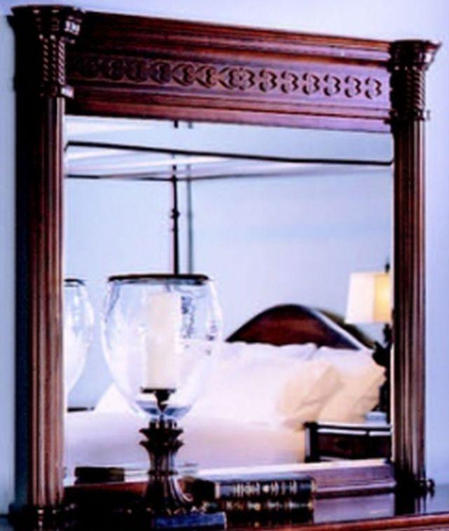 Durham Furniture George Washington Architect Vernon Landscape Mirror-501-182
