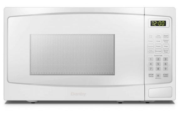 Danby® 1.1 Cu. Ft. White Countertop Microwave-DBMW1120BWW