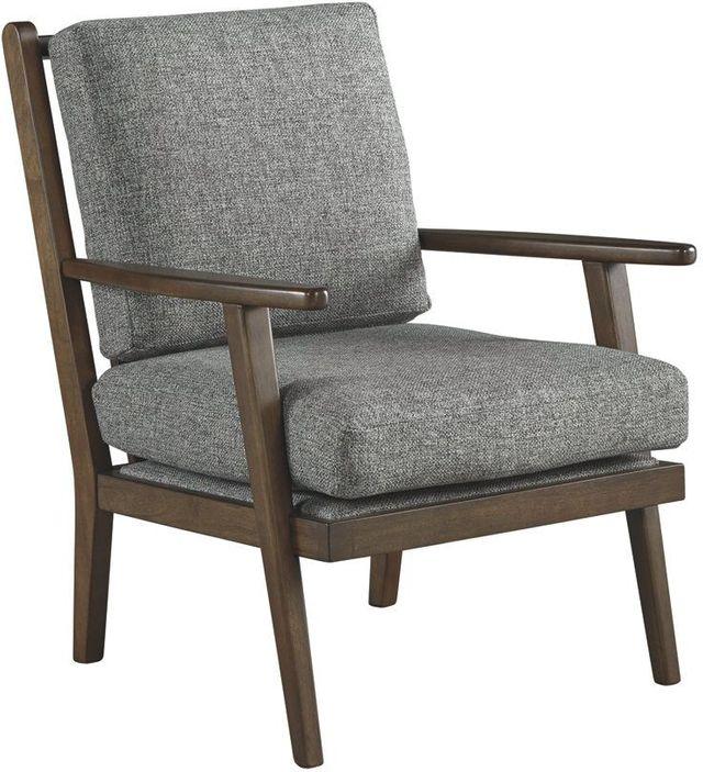 Ashley® Zardoni Charcoal Accent Chair-1140260
