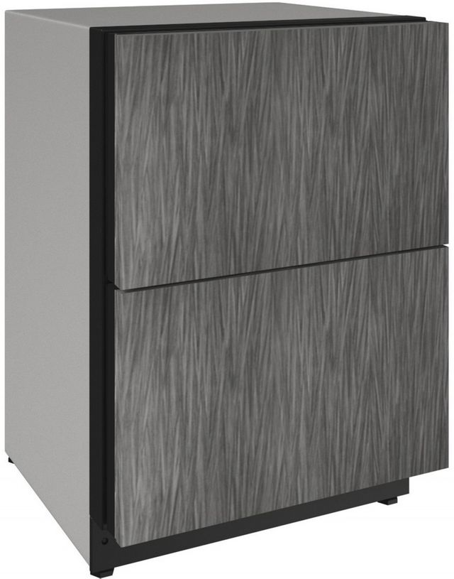 U-Line® 2000 Series 4.9 Cu. Ft. Panel Ready Under the Counter Refrigerator-2224DWRINT-00A