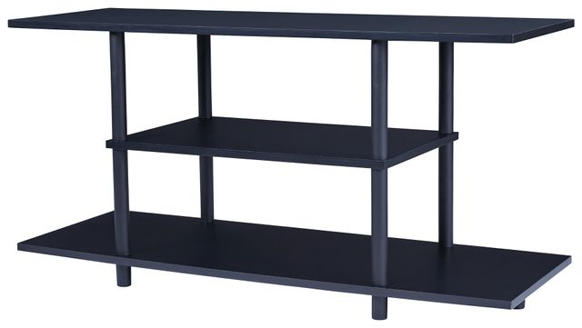 Signature Design by Ashley® Cooperson Black TV Stand-W380-118