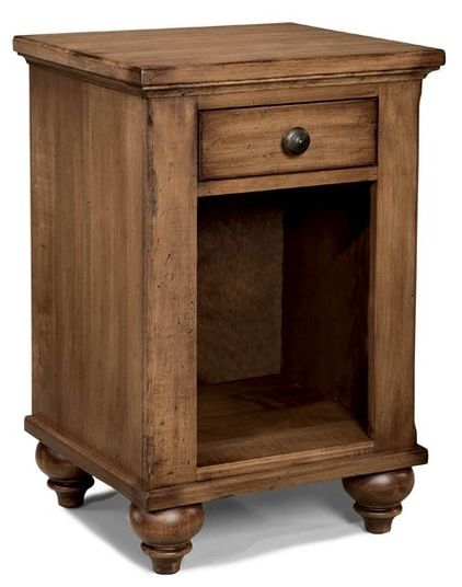 Durham Furniture Hudson Falls Aged Wheat Night Table-111-201