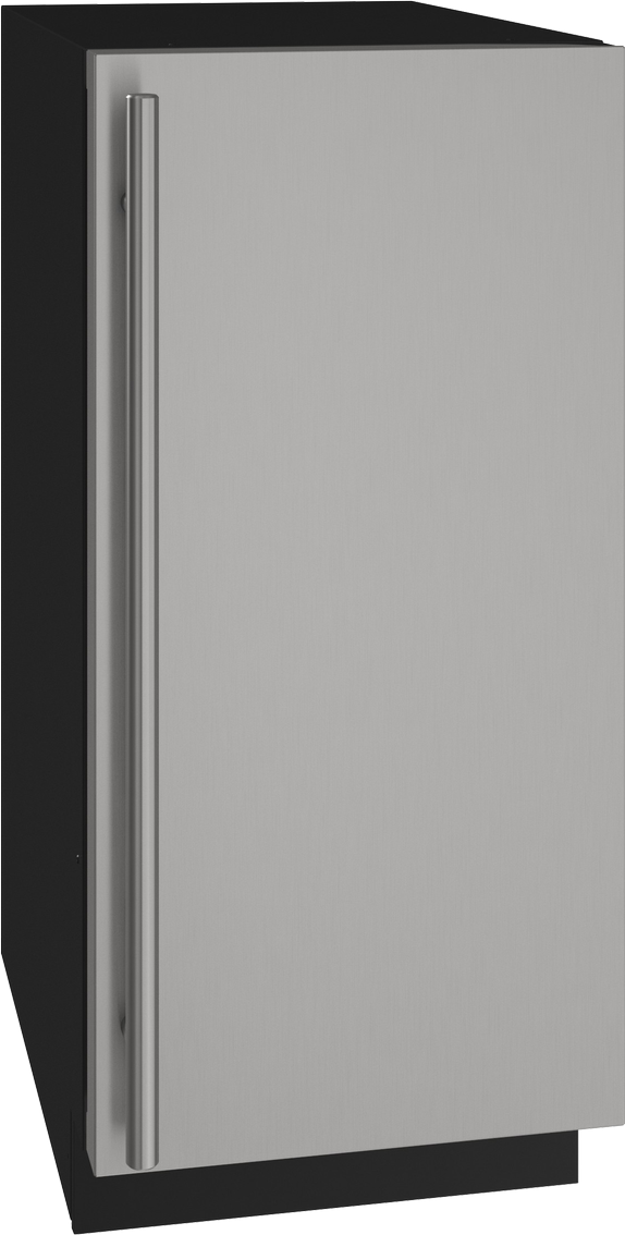"""U-Line® 15"""" Stainless Solid Nugget Ice Maker-UHNB315-SS01A"""