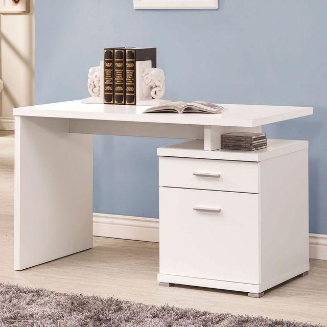 Coaster® White Office Desk-800110