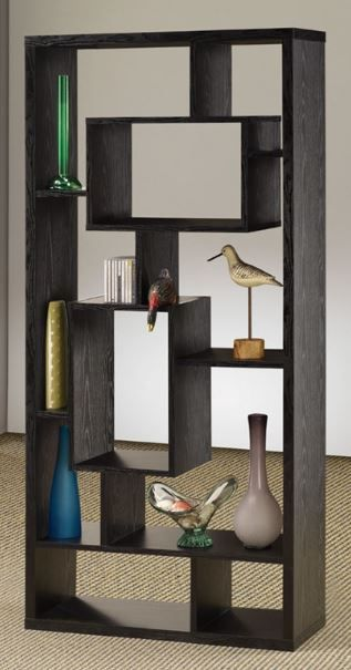 Coaster® Black Bookcase-800262