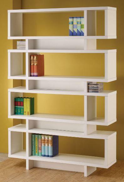 Coaster® White Bookcase-800308