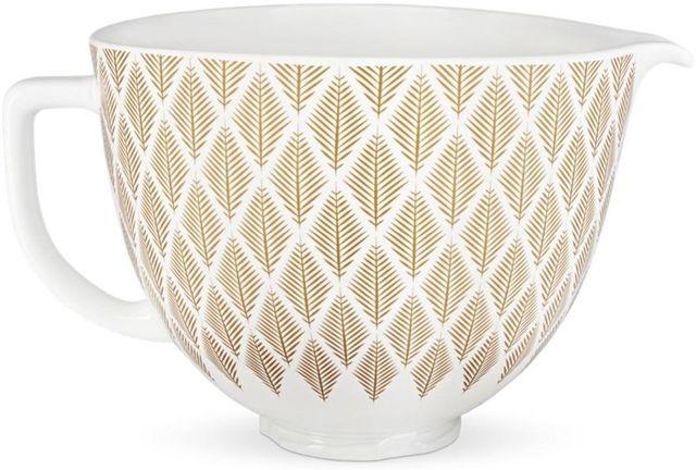 KitchenAid® Gold Conifer 4.8 Liter Ceramic Bowl-KSM2CB5PGC