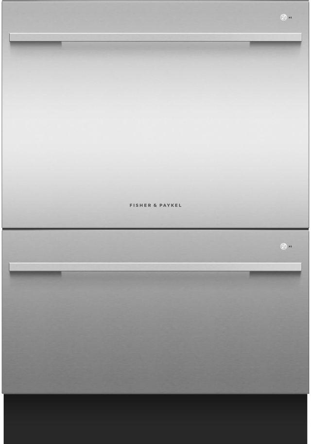 Lave-vaisselle tiroir Fisher Paykel® de 24 po - Acier inoxydable-DD24DDFTX9 N