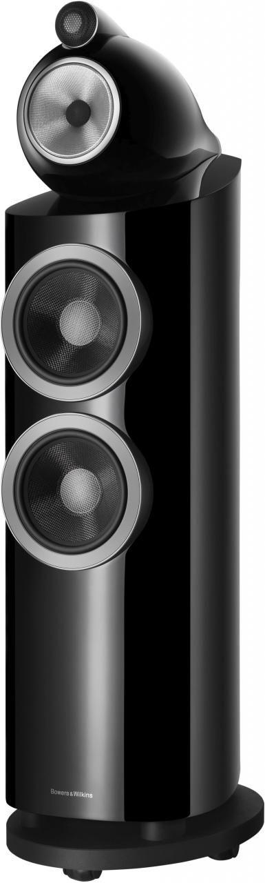 "Bowers & Wilkins 800 Series Gloss Black Diamond 7"" Floorstanding Speaker-803 D3-Black"