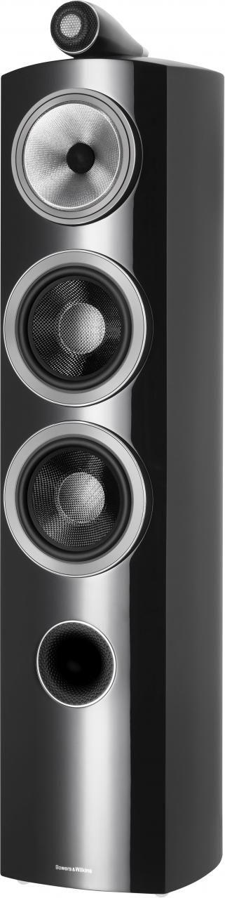 "Bowers & Wilkins 800 Series Gloss Black Diamond 6.5"" Floorstanding Speaker-804 D3-Black"
