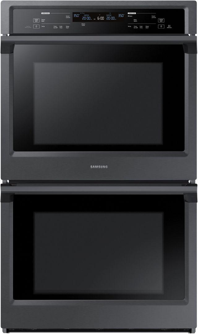 "Samsung 30"" Electric Built In Double Wall Oven-Fingerprint Resistant Black Stainless Steel-NV51K6650DG"