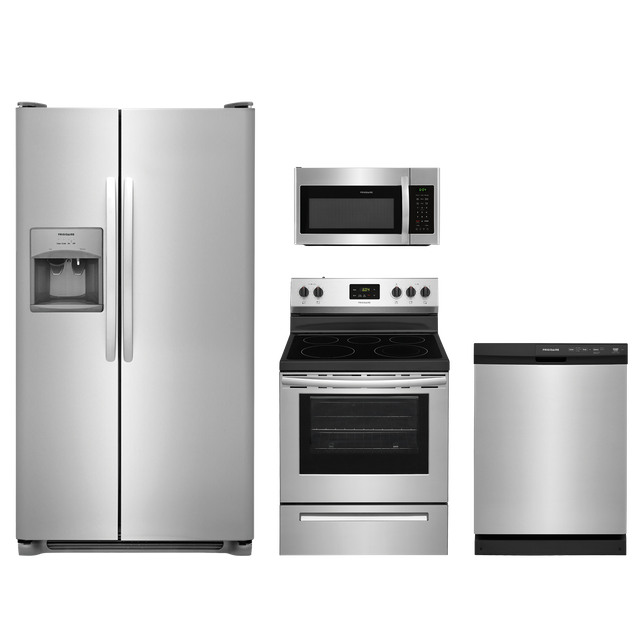 Frigidaire® 4 Piece Kitchen Package-Stainless Steel-FRKITFFCD2413US