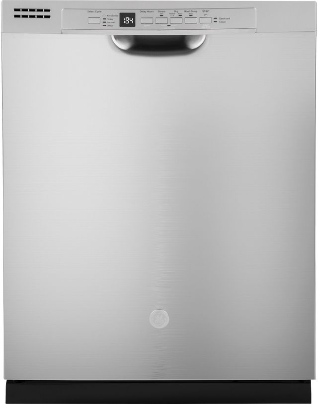 """GE® 24"""" Stainless Steel Built In Dishwasher-GDF530PSMSS"""