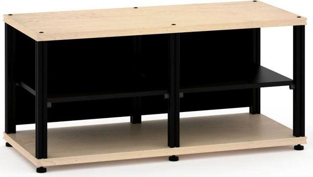 Salamander Designs® Synergy Twin 20 AV Cabinet-Natural Maple/Black-SN20M/B