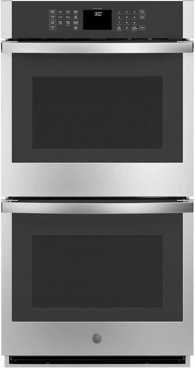 """GE® 27"""" Stainless Steel Electric Double Oven Built In-JKD3000SNSS"""