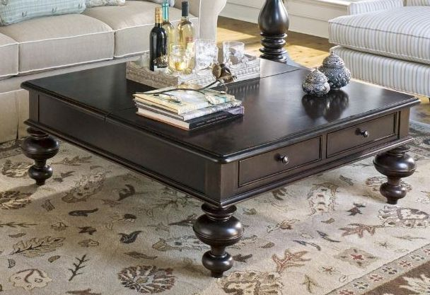 Paula Deen by Universal Furniture Tobacco Put Your Feet Up Table-932801