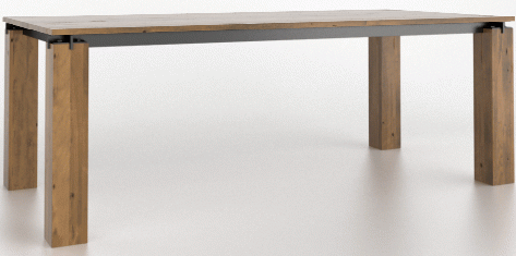 Table à manger rectangulaire East Side Canadel®-TRE04084-EB