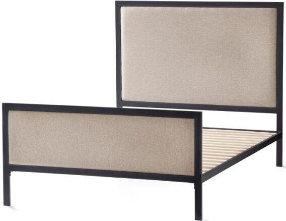 Malouf® Sleep Designer Clarke Desert Full Panel Bed-STFFDECLRKUB