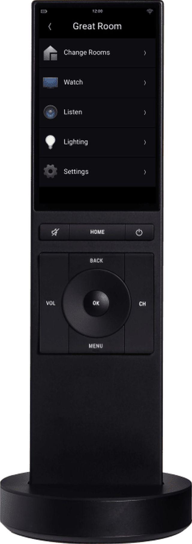 Control4® Neeo Black Remote Home Controller-NE-RMT-BL