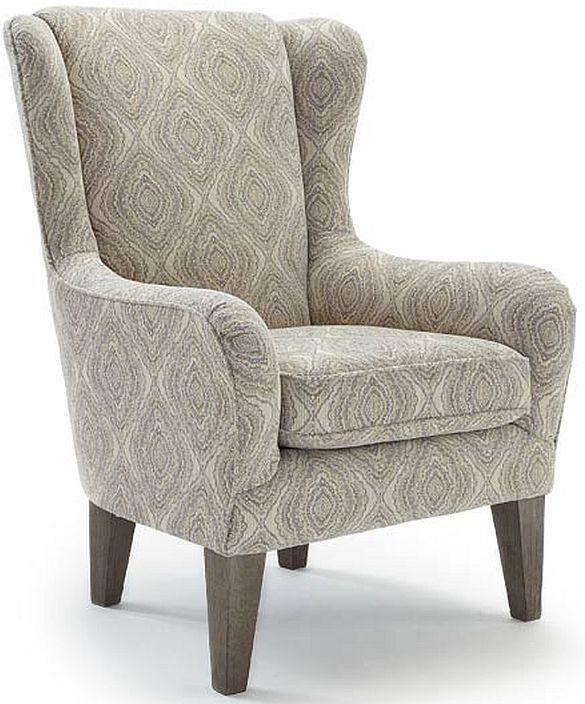 Best Home Furnishings Lorette Riverloom Wing Back Chair-7180R
