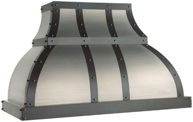 """Vent-A-Hood® Designer Series 48"""" Wall Mount Range Hood-JCH248/B1"""