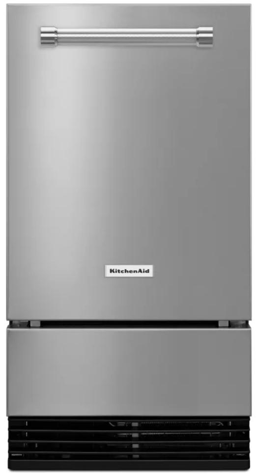 """KitchenAid® 18"""" PrintShield Stainless Automatic Ice Maker-KUID508HPS"""