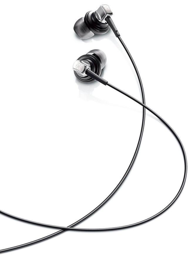 Yamaha® Black In-Ear Headphones-EPH-50BL