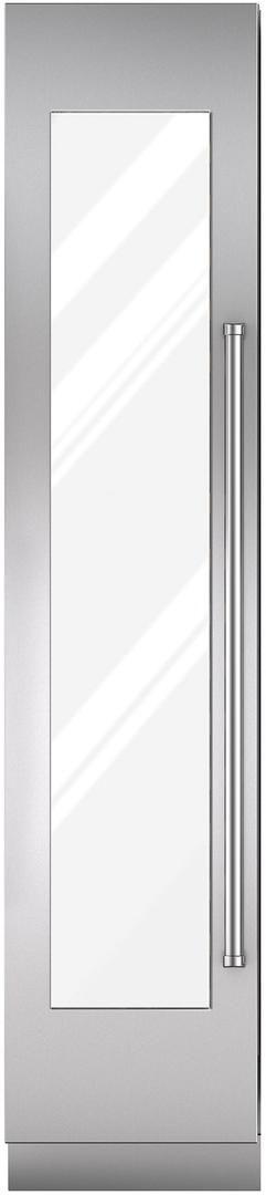 "Sub-Zero® 18"" Integrated Stainless Steel Wine Storage Door Panel with Pro Handle-7025329"