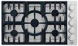 """DCS Professional 36"""" Gas Cooktop-Stainless Steel-CDV-365-L"""
