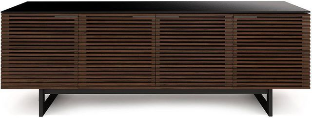 BDI Corridor® Media Console-Chocolate Stained Walnut-8179-WALNUT