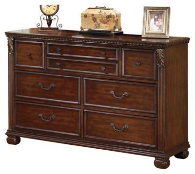 Signature Design by Ashley® Leahlyn Warm Brown Dresser-B526-31