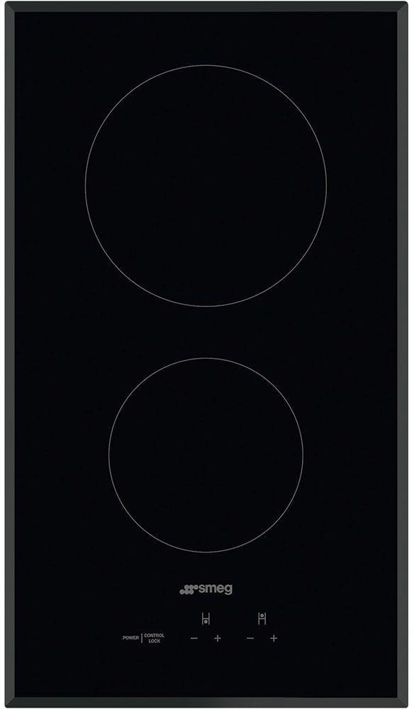 "Smeg 12"" Black Electric Cooktop-SEU122B"