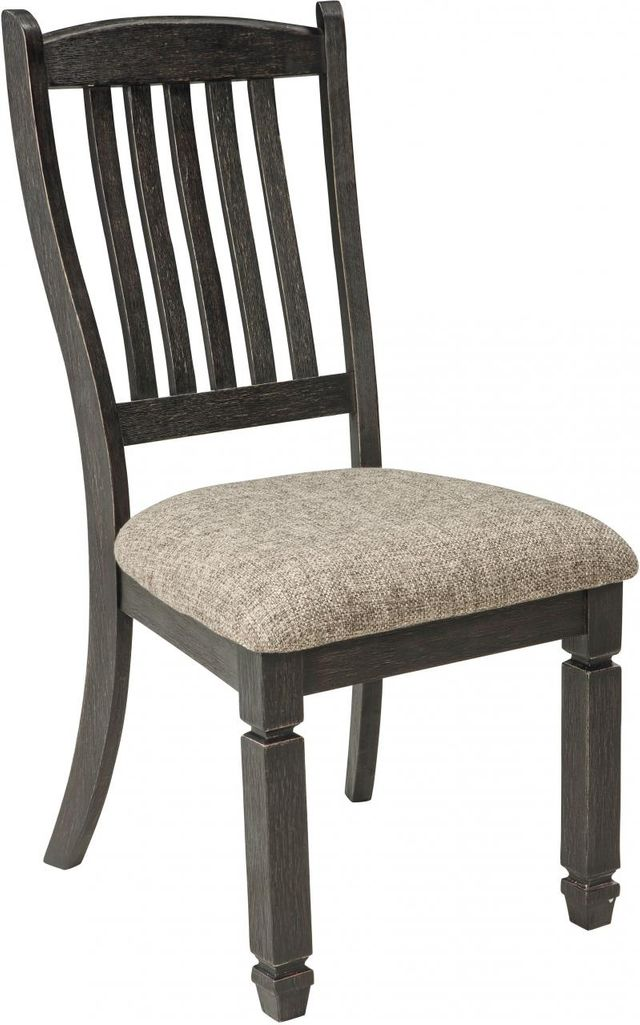 Signature Design by Ashley® Tyler Creek Black/Grayish Brown Dining Side Chair-D736-01
