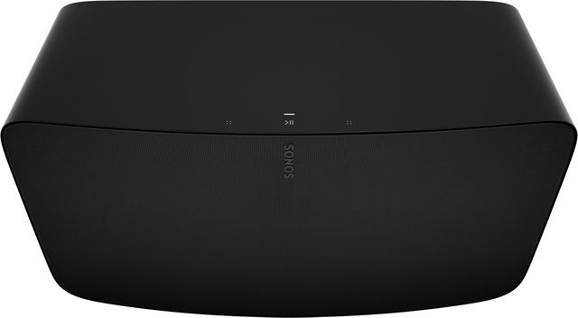Sonos Black Five Bookshelf Speaker-FIVE-BLK