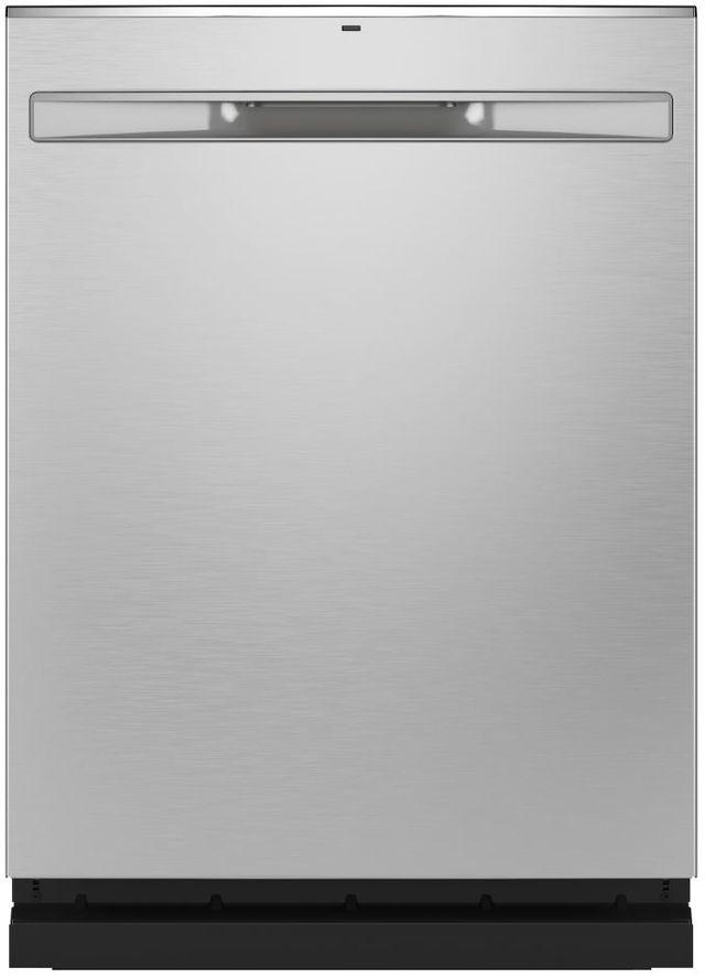 Lave-vaisselle encastré GE® de 24 po - Acier inoxydable-GDP645SYNFS