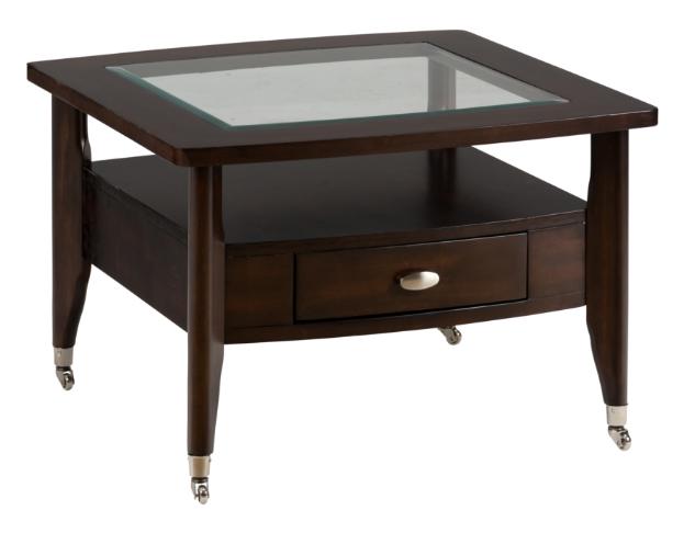 Jofran Inc. Montego Merlot Square Cocktail Table-827-2