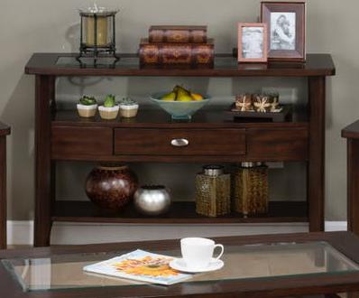 Jofran Inc. Montego Merlot Sofa Table-827-4