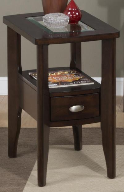Jofran Inc. Montego Merlot Chairside Table-827-7