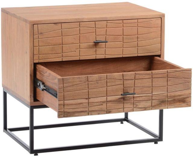 Table de nuit Atelier, brun, Moe's Home Collections®-BZ-1112-24