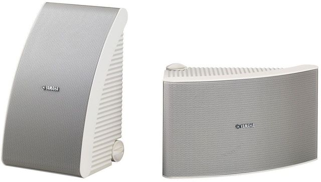 Yamaha® White All Weather Outdoor Speakers-NS-AW992WH
