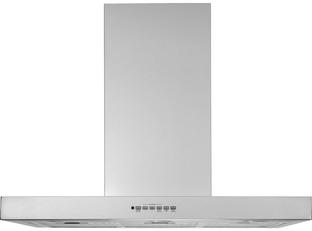 "GE Profile™ 36"" Stainless Steel Wall Mounted Range Hood-UVW8361SLSS"