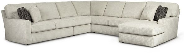 Best Home Furnishings® Dovely Haze 5 Piece Sectional Sofa-M25LL+AC+W+AL+CR